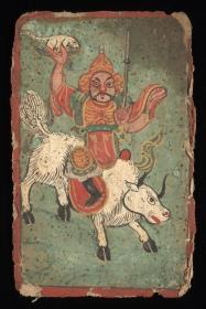 珍本:《纳西族手稿》是Joseph Rock(约瑟夫.洛克)跟随美国国家地理杂志探险队在云南考察时收集。它们包含纳西族的象形文字、祭祀、鬼神绘画等。本店销售的为米黄色仿古高档道林纸原色(彩色)原大复制本