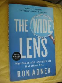 The Wide Lens:What Successful innovators see that others miss (updated with a new preface) 创新者避免失误战略 英文原版 24开 近全新