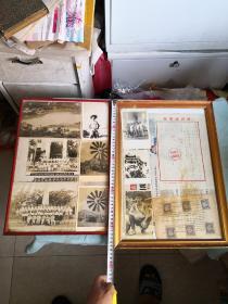 解放初南武中学题材一套  照片信笺邮票