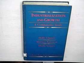 INDUSTRIALIZATION AND GROWTH A Comparative Study 工业化与增长的比较研究(文物原版)