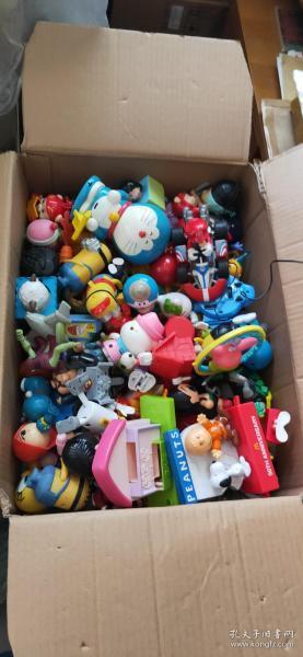 一箱小时候玩具 麦当劳 肯德基玩具处理