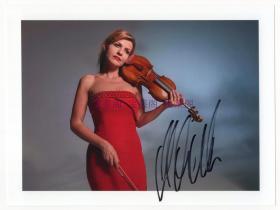 小提琴女神 安妮·索菲·穆特(Anne-Sophie Mutter) 亲笔签名官方照 4