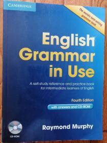 English Grammar in Use Book with Answers and CD剑桥英语语法 原版进口教材