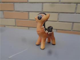 六十年代小鹿形胶皮哨玩具