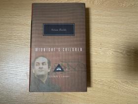 Midnight's Children  拉什迪《午夜之子》(午夜的孩子), (《撒旦诗篇》作者),漂亮的人人文库版,纸张好装订好(锁线装订),布面精装
