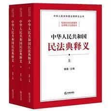 新书预售 2020新修订版民法典 中华人民共和国民法典释义 上中下 黄薇主编 法律出版社 民法典法条总则物权合同人格权婚姻家庭继承侵权责任法律法规汇编