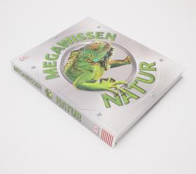 自然百科知识德语版 MegaWissen Natur: Staunen, lesen, lernen für die ganze Familie. Mit hochwertigem Einband und über 1000 spektakulären Nahaufnahmen