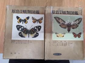 原色日本蛾类图鉴【上下册】