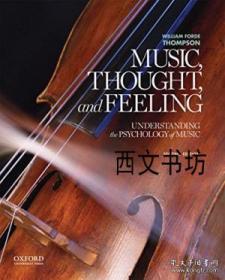 【包邮】2014年出版 Music, Thought, And Feeling: Understanding The Psychology Of Music