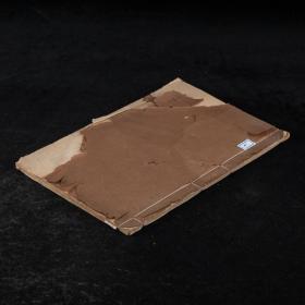 清三代写本!写本《清江贝先生诗集》2卷1册,小楷娟秀精整\依纸张、行格、字体看,C。典型的馆阁体!