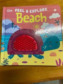 Om FEEL & EXPLORE  Beach(美国进口触摸书)