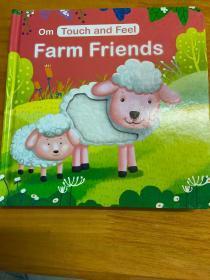 Om Touch and Feel  Farm Friends(美国进口触摸书)