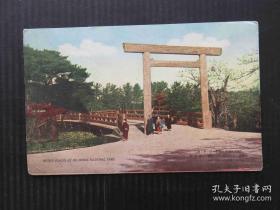 日本伊势志摩国立公园 早期 明信片(6张)