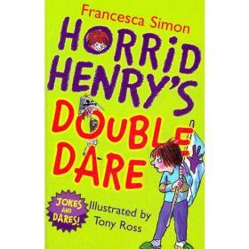 Horrid Henry's Double Dare 淘气包亨利笑话书-傻大胆儿