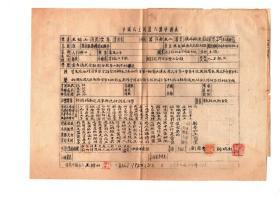 王锦山 (陕西临潼武屯镇人)旧军人,云南讲武堂毕业  曾参加陕西靖国军   与沈仲谋是同学  原大原色扫描件