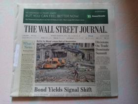 THE WALL STREET JOURNAL 华尔街日报 2017/03/20  外文原版报纸 装饰道具