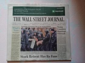THE WALL STREET JOURNAL 华尔街日报 2017/03/27   外文原版报纸 装饰道具