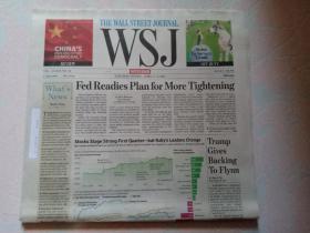 THE WALL STREET JOURNAL 华尔街日报周末版 WSJ 2017/04/01-02 外文原版报纸