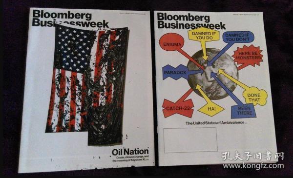 Bloomberg Businessweek 英文商业周刊财经杂志 2014年打包2本