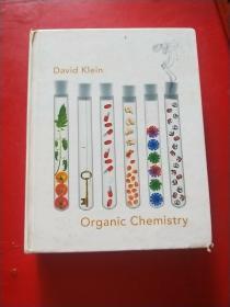 David Klein Organic Chemistry   大卫克莱因有机化学 书侧有字迹