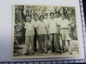 原国家民委专家张红、段星光旧藏老照片1张 1957年北京市委党校15部第一小组合影