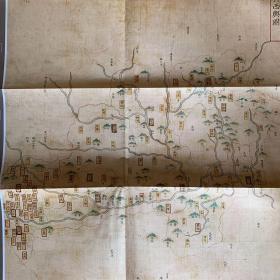 1536年广西省地图