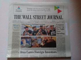 THE WALL STREET JOURNAL 华尔街日报 2017/03/28   外文原版报纸 装饰道具