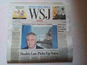 THE WALL STREET JOURNAL 华尔街日报周末版 WSJ 2017/03/18-19  外文原版报纸