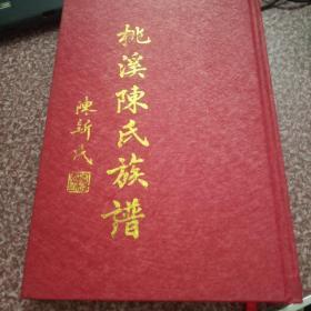 桃溪陈氏族谱,名家藏书