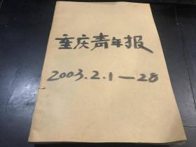 重庆青年报 2003年2.1--28号