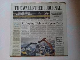 THE WALL STREET JOURNAL 华尔街日报 2016/10/28-30   外文原版报纸