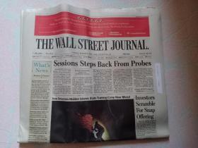 THE WALL STREET JOURNAL 华尔街日报 2017/03/03  外文原版报纸 装饰道具