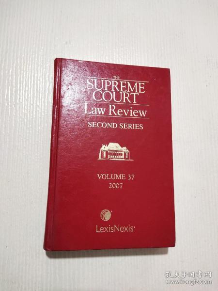 THE SUPREME COURT LaW Review SECOND SERIES(见图)16开精装