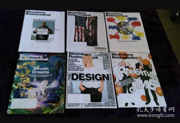 Bloomberg Businessweek 英文商业周刊 财经杂志 2014年打包6本