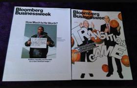 Bloomberg Businessweek 英文商业周刊 财经杂志 2014年打包2本