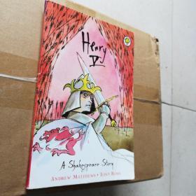 A Shakespeare story : Henry V (沙剧《亨利5世》每页均有精趣插图)