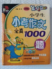 小学生小考作文全真1000题 彩色版