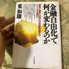 日文原版  荒和雄  金融自由