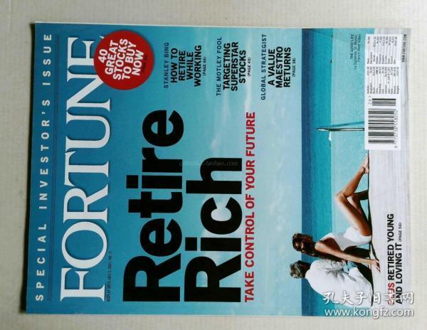 FORTUNE 英文财富杂志 2007/06/25 财经杂志原版外文杂志期刊
