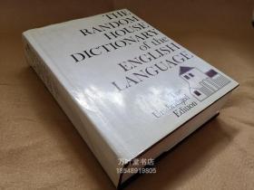 万叶堂英文原版 THE RANDOM HOUSE DICTIONARY OF THE ENGLISH LANGUAGE