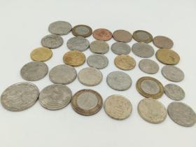 国外硬币30枚