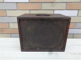 清代木雕手提书箱