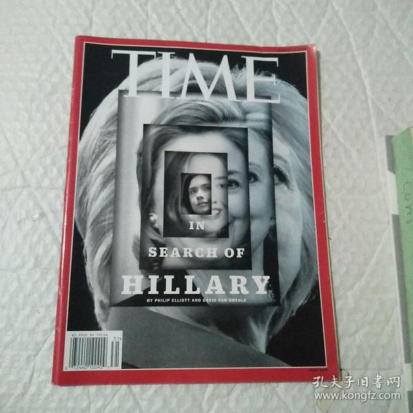 TIME VOL .188 ,NO .5 2016  IN  SEARCH OF  HILLARY  BY PHILIP ELLIOTT AND DAVID VON DREHLE