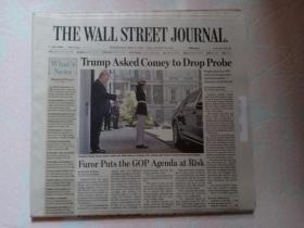 THE WALL STREET JOURNAL 华尔街日报 2017/05/17   外文原版报纸 装饰道具