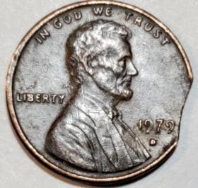 错版美元一分1979D