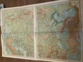 1922年 俄国欧洲部分两大张