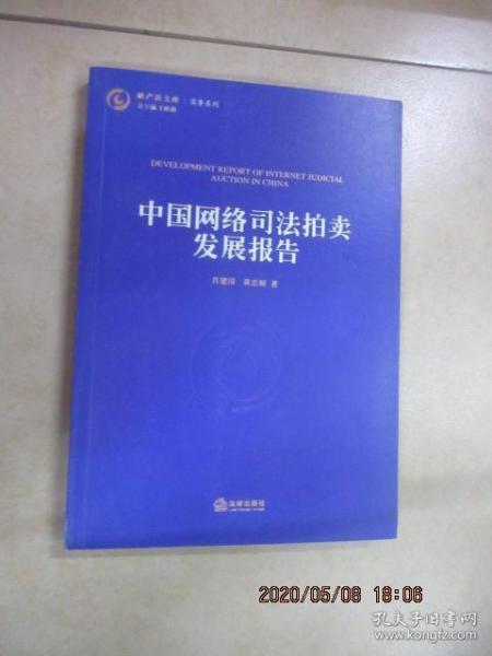 中国网络司法拍卖发展报告