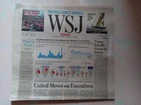THE WALL STREET JOURNAL 华尔街日报周末版 WSJ 2017/04/22-23   外文原版报纸