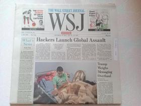 THE WALL STREET JOURNAL 华尔街日报周末版 WSJ 2017/05/13-14  外文原版报纸
