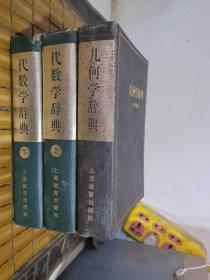 代数学辞典——问题解法(上下册全)+几何学辞典【3册合售】